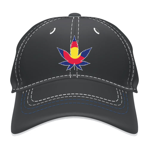 Colorado Flag Leaf Hat