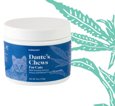 Dante's Chews for Cats (CBD Infused)