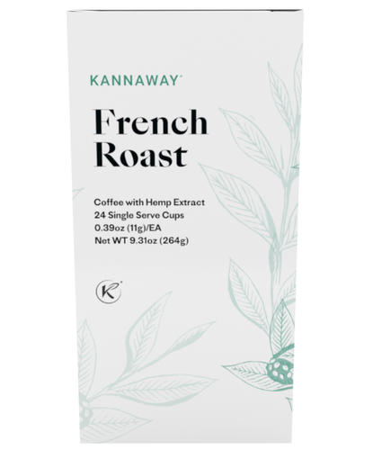 CBD Infused French Roast Coffee