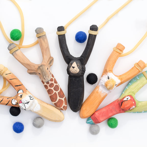 Animal Wood Slingshots