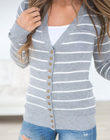 Striped Cardigan