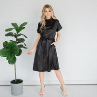Holiday Party Dress-Black