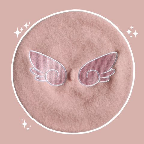 Wings of an Angel Beret