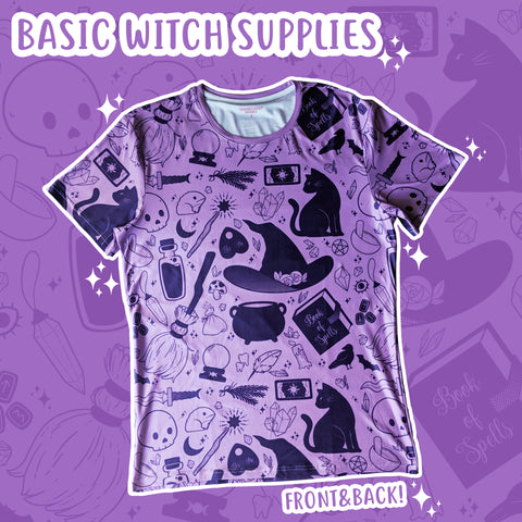 Basic Witch, Purple T-Shirt