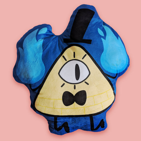 Bill Cipher - Gravity Falls - Plush Pillow