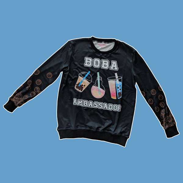 Boba Ambassador, Black Sweater