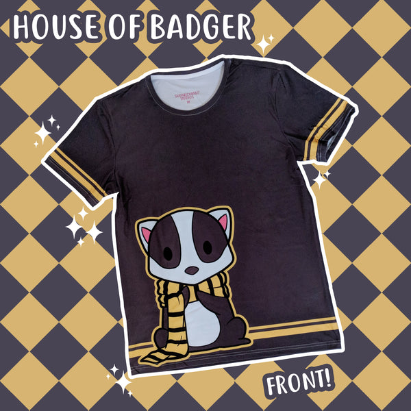 The House of Badger - Fantastic Monsters T-Shirt