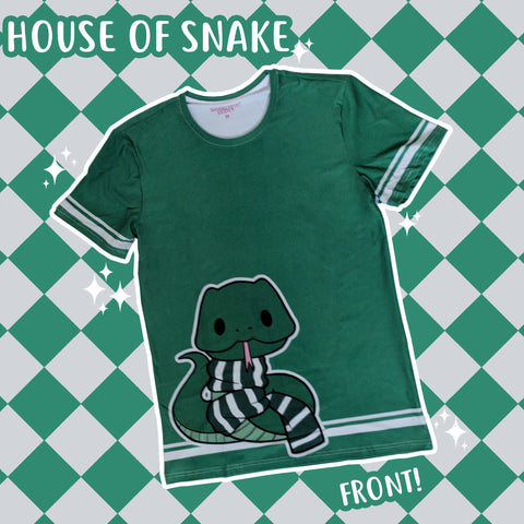 The House of Snake - Fantastic Monsters T-Shirt