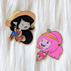 Marce and Bubblegum - What was Missing - Enamel Pin