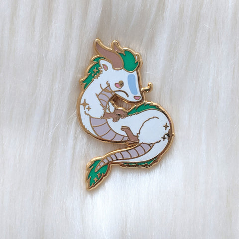 Chibi Haku - Spirited Movie - Enamel Pin