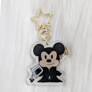 King Mouse - Acrylic Charm