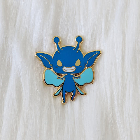 Naughty Blue Pixie - Adorable Beasts & Where I Found Them Pin