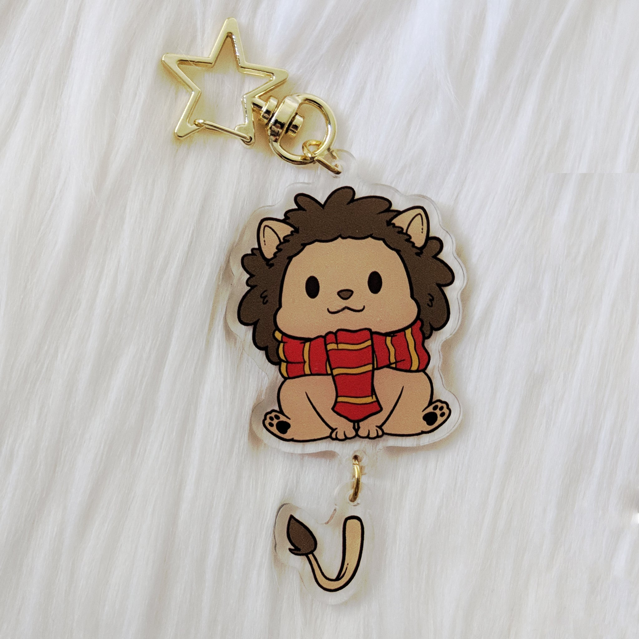 House of Lion, Dangle Tail Acrylic Charm