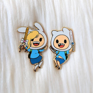 Adventurers Finn and Fionna