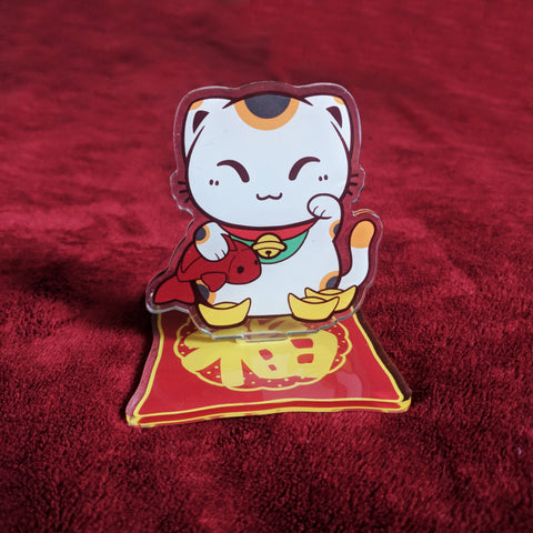 Manekineko - Good Luck Cat - Acrylic Standee