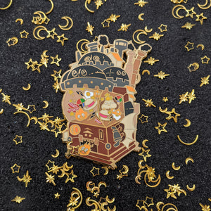 Castle-Pon - The Moving Castle - Enamel Pin - B-GRADE