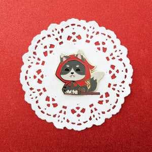 Little Red Riding Wolf - Enamel Pin