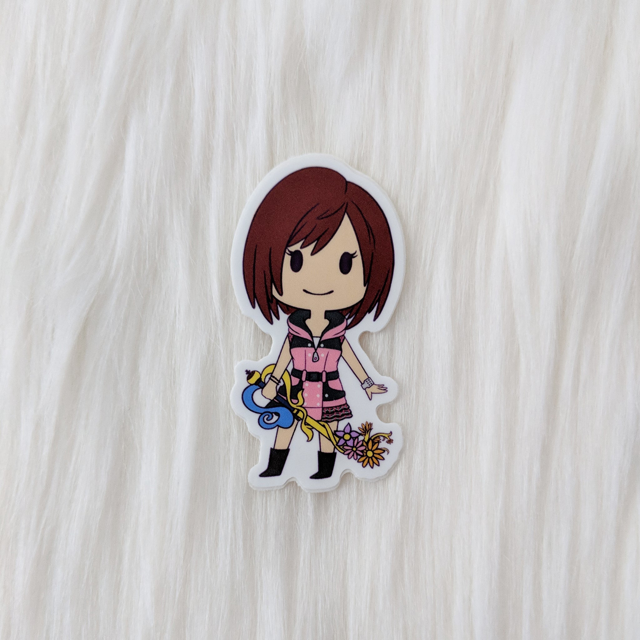 Kairi - Kingdom Hearts Vinyl Sticker
