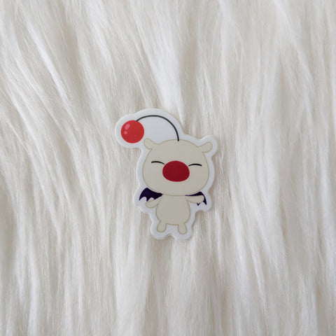 Moogle - Kingdom Hearts Vinyl Sticker