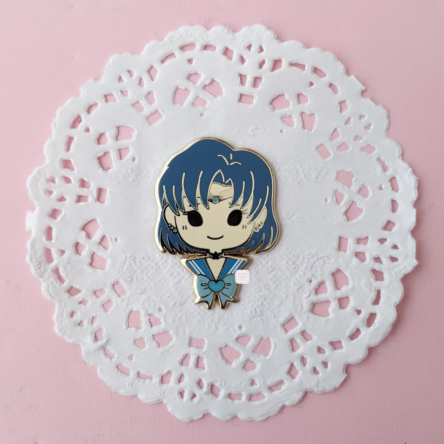 Chibi Mercury - Pretty Guardians - Enamel Pin