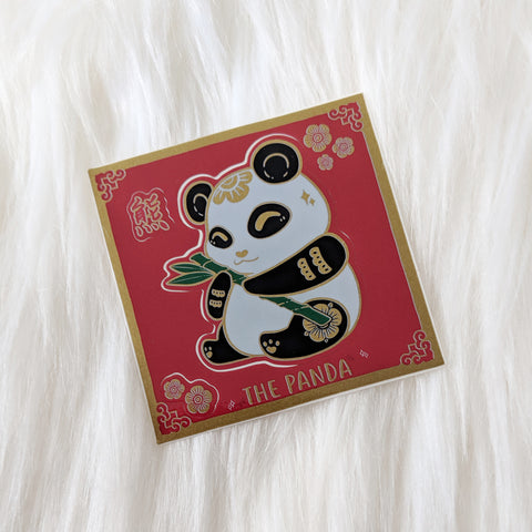 The Panda - Mini-Kiss Cut Vinyl Sticker Sheet