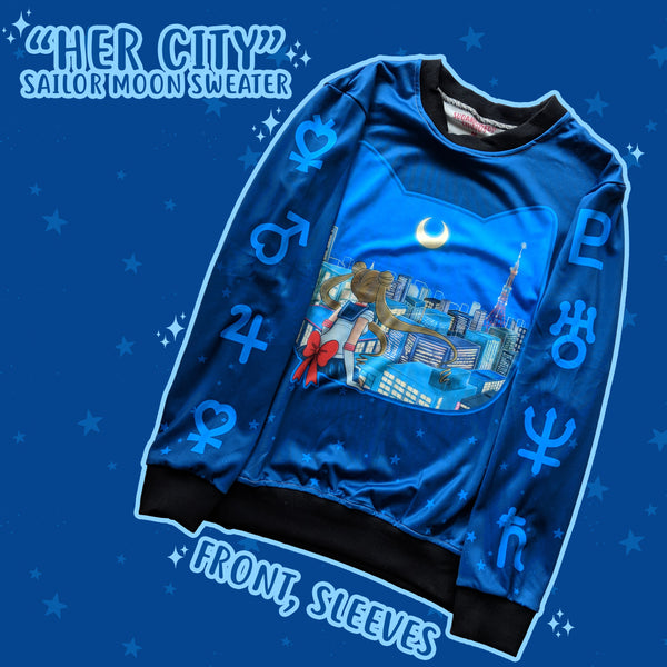 """Her City"" - Moonie Sweater"