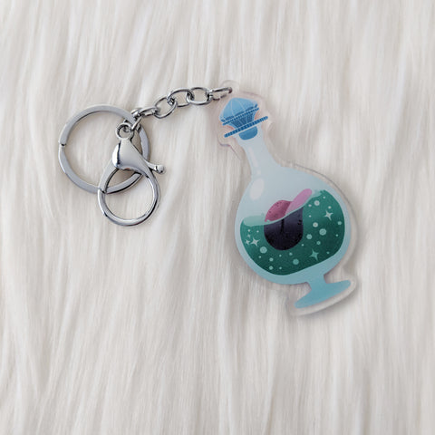 Truth & Silence Potion - Acrylic Charm