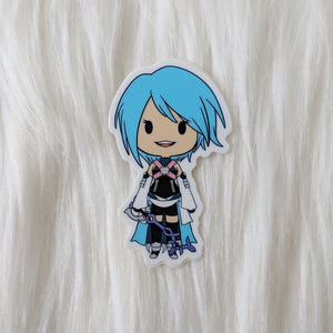 Aqua - Kingdom Hearts Vinyl Sticker