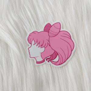 Sailor Chibi - Kingdom Hearts Vinyl Sticker