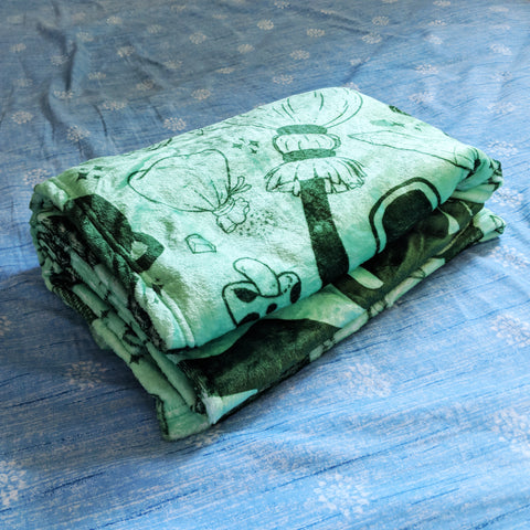 Basic Witch Supplies Blanket - Green/Green