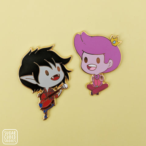 Marshall Lee and Gumball - Bad Little Boy - Enamel Pin
