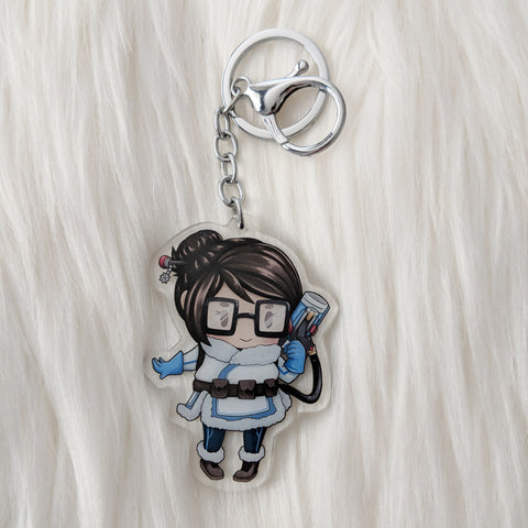Ice Girl - Acrylic Charm