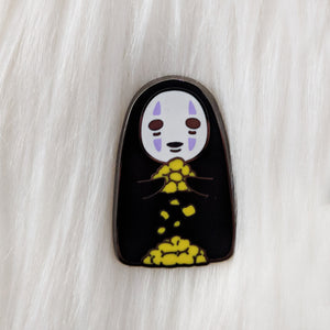 Nope Face - Spirited Movie - Enamel Pin