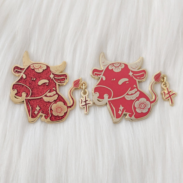 "Ox ""牛"" - Zodiac Pin Series"