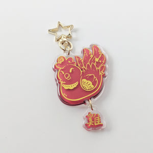 "Rooster ""雞"" - The Zodiac Series - Acrylic Charm"