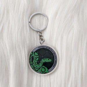 House of Snake, Circle Acrylic Charm