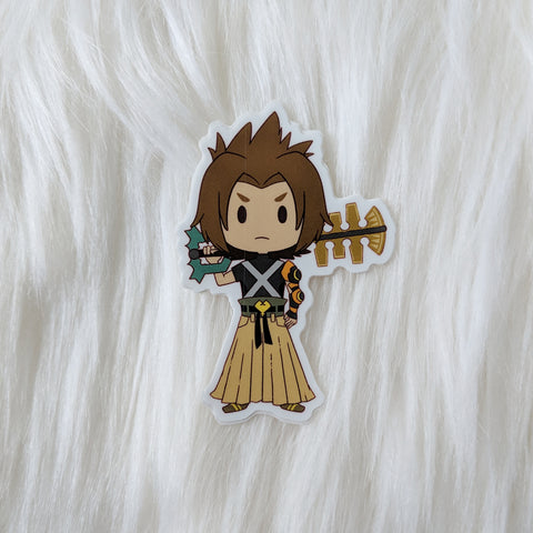 Terra - Kingdom Hearts Vinyl Sticker