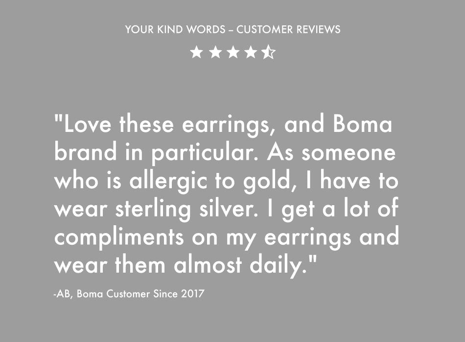 Boma Jewelry Customer Reviews