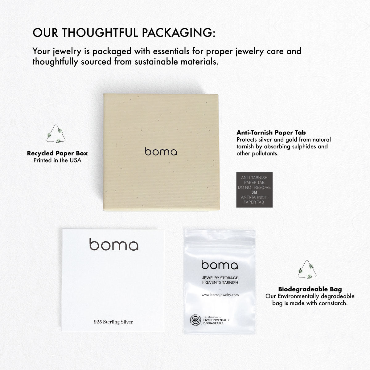 Boma Jewelry Packaging