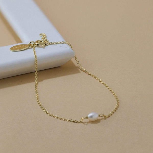 boma new Gold  Parel Pearl Bracelet