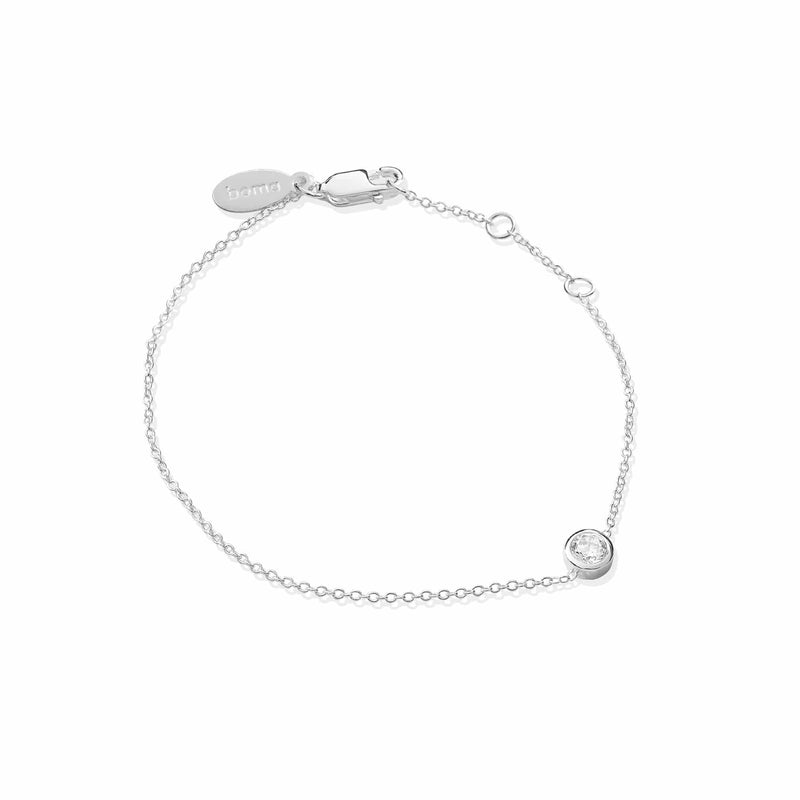 Belle Bracelet with Stone Bracelets Boma New 925 Sterling Silver