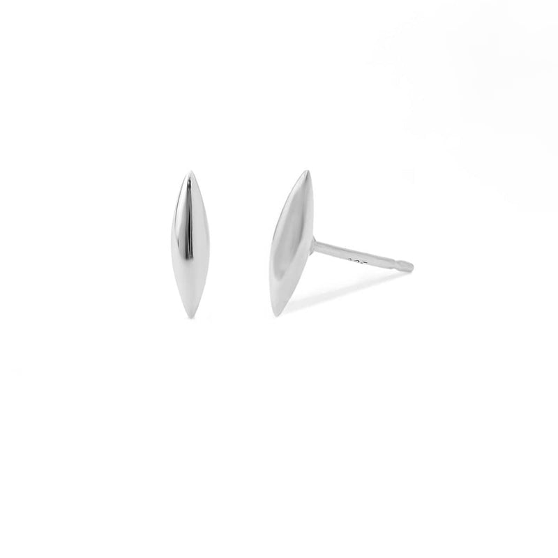 boma jewelry- new earrings sterling silver belle rounded earring studs