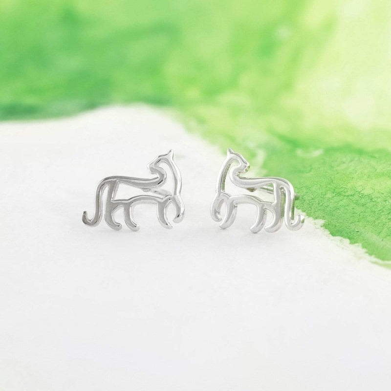 Boma New Earrings Animal Zodiac Tiger Studs