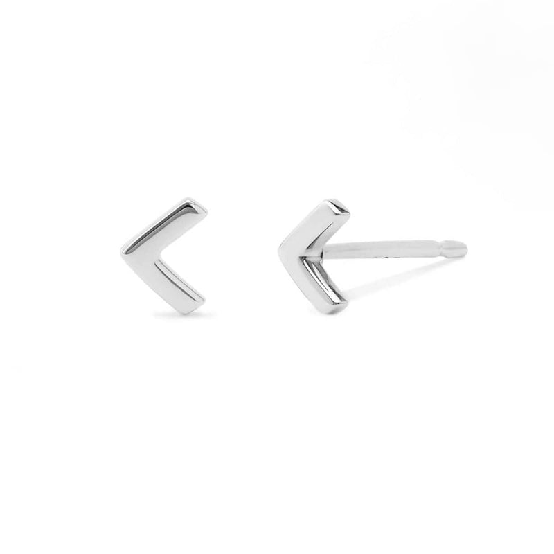 Boma New Earrings Belle Chevron Studs