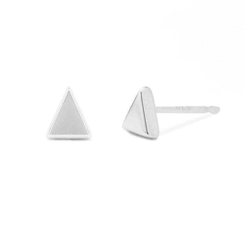 Boma New Earrings Belle Triangle Studs
