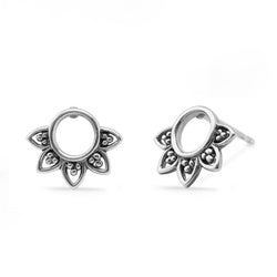 Boma New Earrings Bohemian Circle Studs