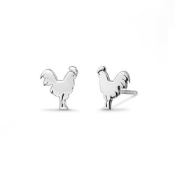 Boma New Earrings Chicken Farm Animal Studs