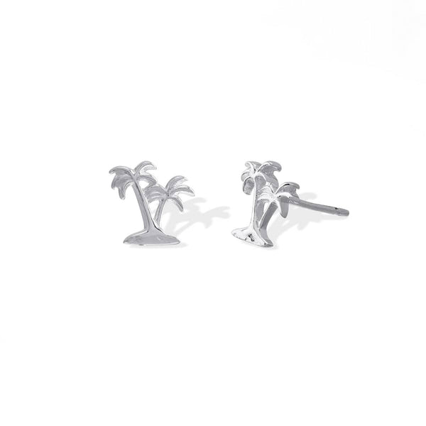Boma New Earrings Coconut Palm Tree Studs