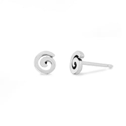Boma New Earrings Essential Spiral Studs