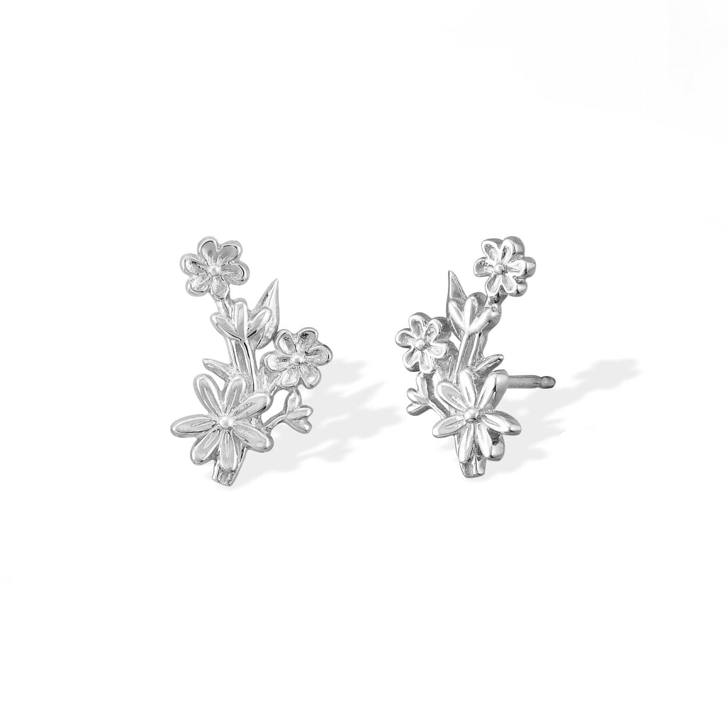 Boma New Earrings Flower Bouquet Studs